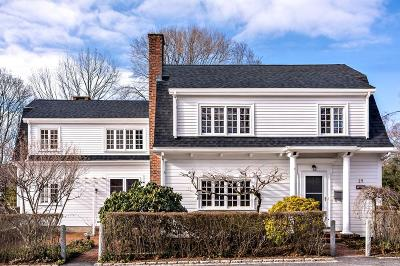 Cohasset Single Family Home For Sale: 25 Sohier Street