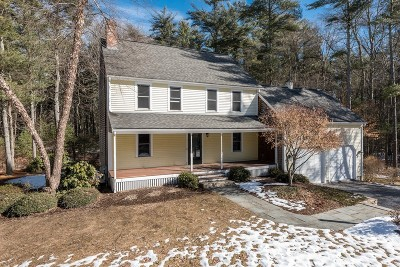 East Bridgewater Single Family Home Under Agreement: 82 Pine Wood Path
