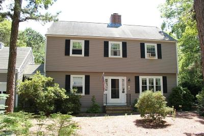 MA-Barnstable County Single Family Home For Sale: 3 Eel River Rd