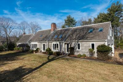 Cohasset MA Single Family Home For Sale: $1,035,000