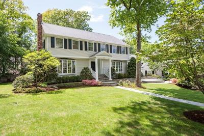Wellesley Single Family Home For Sale: 30 Bellevue