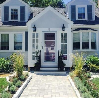 Newton Single Family Home Under Agreement: 16 Barbara Road