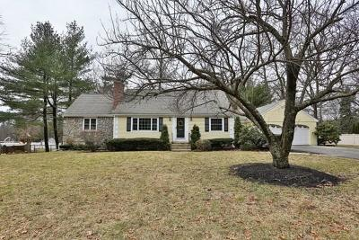 Lynnfield Single Family Home Under Agreement: 6 Wing Road
