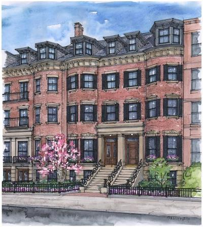Condo/Townhouse For Sale: 89 Beacon Street #1