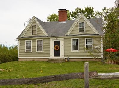Marshfield Single Family Home Under Agreement: 16 Summer Street