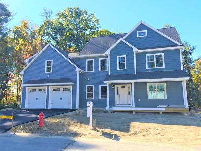 Methuen, Lowell, Haverhill Single Family Home For Sale: Lot 10 Liam's Lane