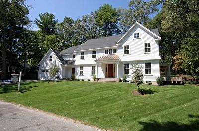 Wellesley Single Family Home For Sale: 10 College Rd