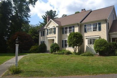 Needham Single Family Home For Sale: 805 Charles River