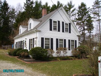 Braintree, Milton, Quincy, Weymouth, East Bridgewater, Hanover, Hanson, Pembroke, West Bridgewater, Whitman Single Family Home For Sale: 193 Center St