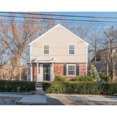 Newton Single Family Home Contingent: 360 Linwood Avenue #1
