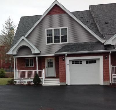Foxboro Condo/Townhouse For Sale: 43 Dexter Road #17-43