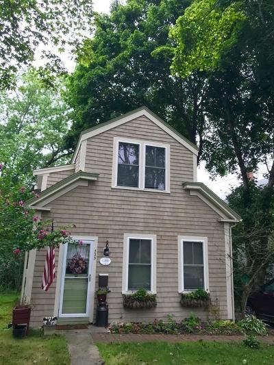 Wareham Single Family Home Back On Market: 525 Main St.