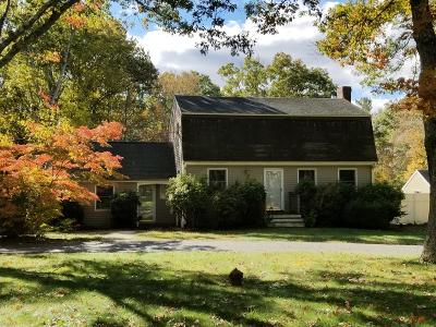 Plympton Single Family Home Under Agreement: 104 Upland Road