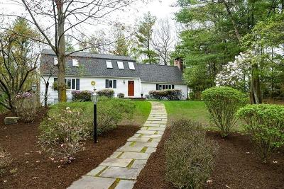 Sudbury MA Single Family Home For Sale: $875,000