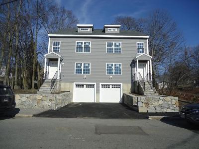 Woburn Condo/Townhouse For Sale: 22 Garfield Avenue #22
