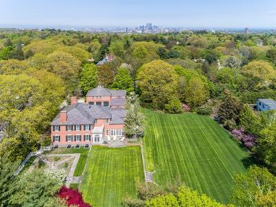 Brookline MA Single Family Home For Sale: $13,950,000