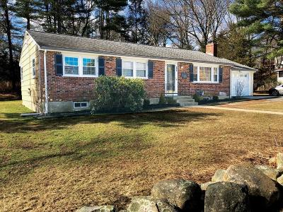 Holliston Single Family Home Under Agreement: 495 Central St