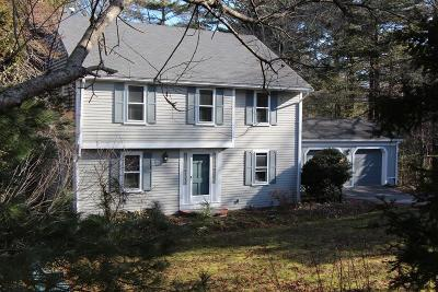 Bourne Single Family Home Contingent: 9 Bennets Neck Dr