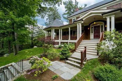 Newton Single Family Home For Sale: 20 Eliot Memorial Rd