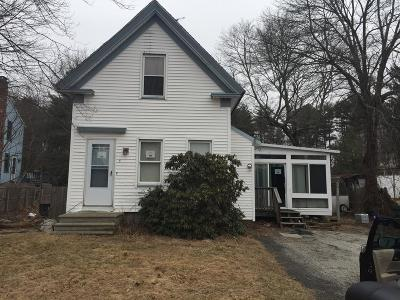 Franklin Single Family Home Under Agreement: 3 Edwards St