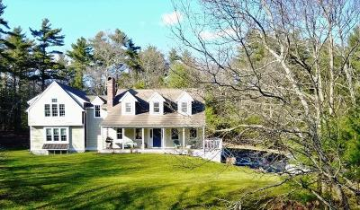 Duxbury Single Family Home For Sale: 296 Mayflower St