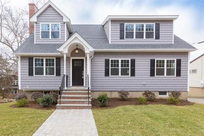 Arlington MA Single Family Home Under Agreement: $1,199,999