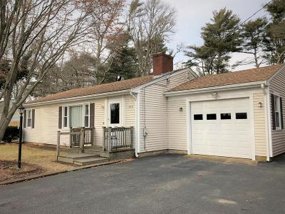 Falmouth Single Family Home Under Agreement: 433 Carriage Shop Road