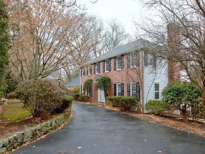 Wellesley Single Family Home For Sale: 122 Glen Rd