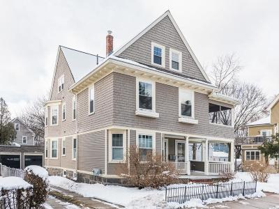 Boston Single Family Home Under Agreement: 73 Cohasset St #2