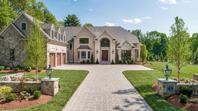 Needham Single Family Home For Sale: 45 Country Way
