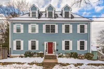 Needham Single Family Home Contingent: 204 Brookline St