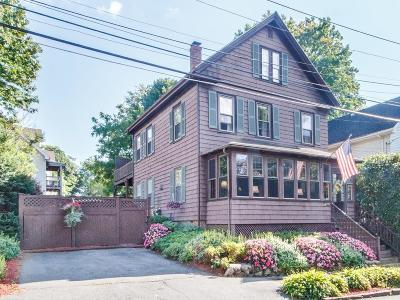 Wakefield Single Family Home For Sale: 20 Bryant Street