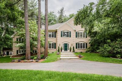 Sudbury MA Single Family Home New: $1,599,000