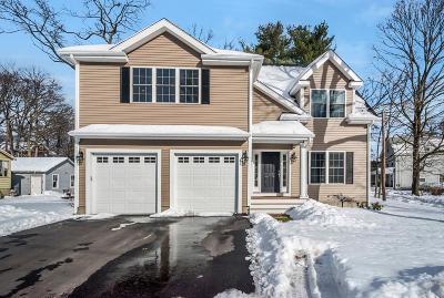 Framingham Single Family Home Under Agreement: 129 Dennison Avenue
