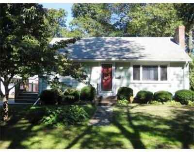Brockton Single Family Home For Sale: 64 Welsford St