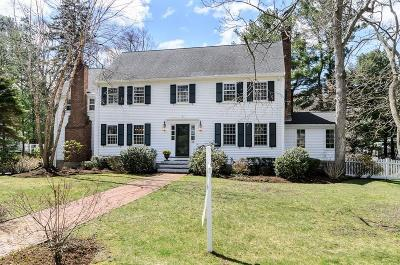 Wellesley Single Family Home New: 86 Suffolk Road