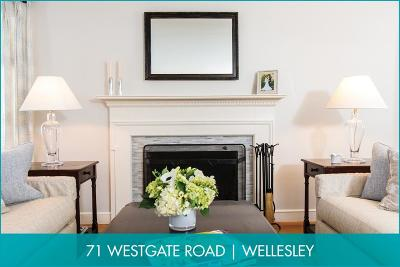 Wellesley Single Family Home New: 71 Westgate Road