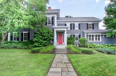 Dedham Single Family Home For Sale: 902 High Street