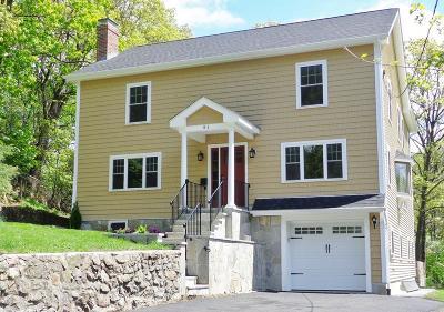 Arlington MA Single Family Home For Sale: $1,399,900