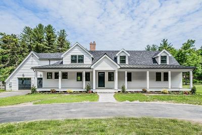 Sudbury Single Family Home New: 271 Peakham Road