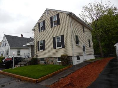 Dedham Single Family Home For Sale: 215 Curve St