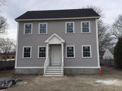 Dedham Single Family Home Under Agreement: 7 River St