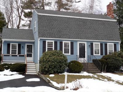 Cohasset MA Single Family Home For Sale: $565,000