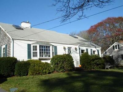 Barnstable Single Family Home Under Agreement: 547 Shootflying Hill Rd