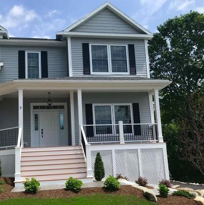 Ipswich Single Family Home Under Agreement: 7 Highland Avenue #1
