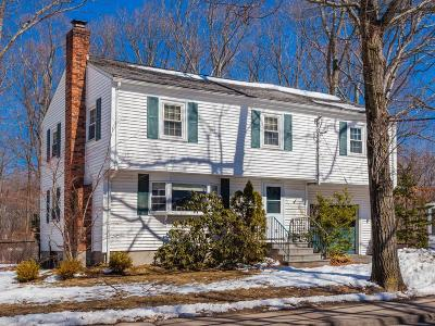 Natick Single Family Home Under Agreement: 161 Mill St