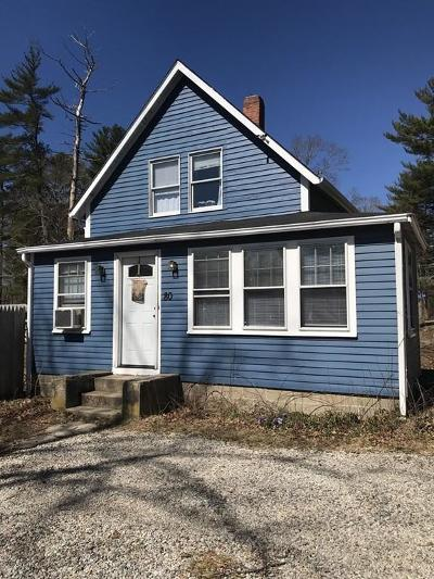 Hanson Single Family Home Under Agreement: 80 Milford