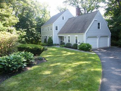 Cohasset MA Single Family Home For Sale: $749,000
