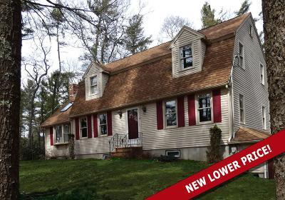 Kingston MA Single Family Home Back On Market: $465,000