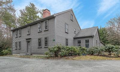 Dedham Single Family Home Under Agreement: 34 Bemis Rd
